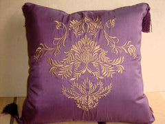 CHARLOTTE THROW PILLOW IN DIFFERENT COLORS