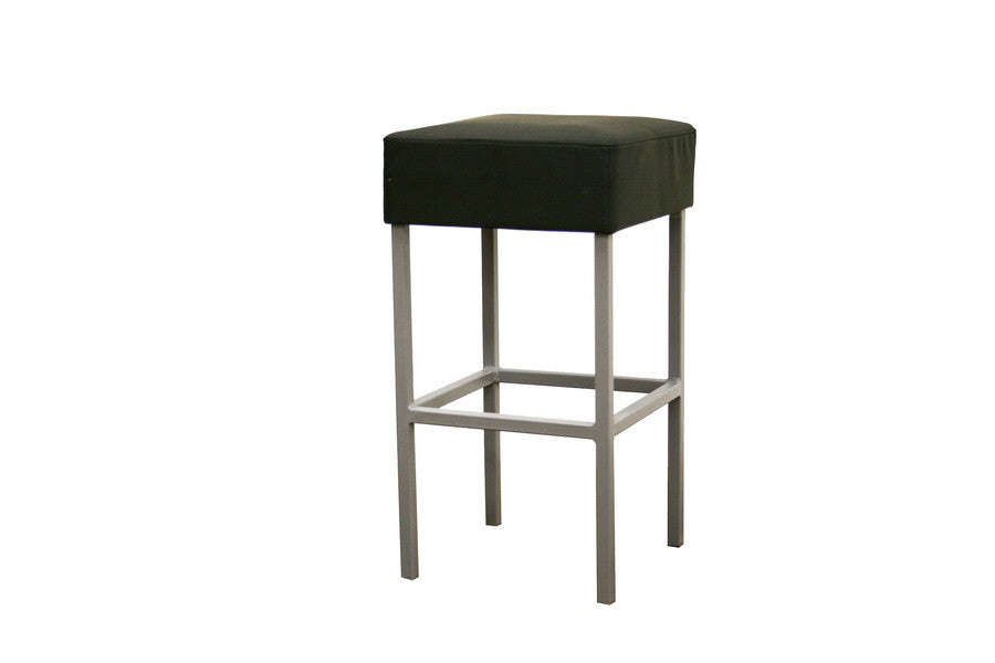 Baxton Studio Andante Black Faux Leather Counter Stool