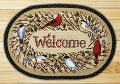 Birdsong Welcome Licensed Print Rug