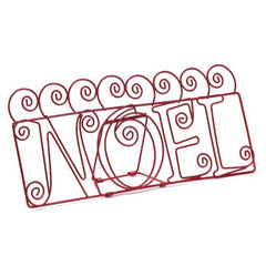Noel Greeting Card Holder