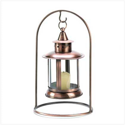 Copper Tabletop Lantern