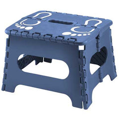 Blue Folding Step Stool