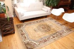 Feraghan Isfahan Mediallion Wool Blend Area Rugs