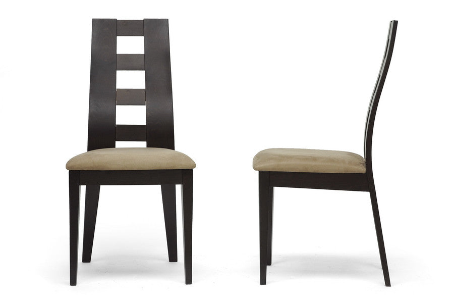 Baxton Studio Paxton Dining Chair in Set of 2