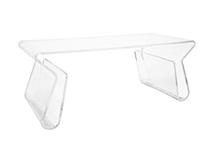Baxton Studio Acrylic Coffee Table
