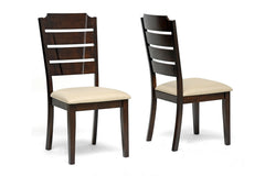 Baxton Studio Victoria Modern Dining Chair Set of 2