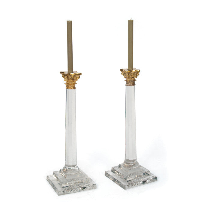 Pair Of William & Kate Candlesticks