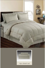 Down Alternative 4 Pc Bed Set Twin, 5 Pc Bed Set Queen & King