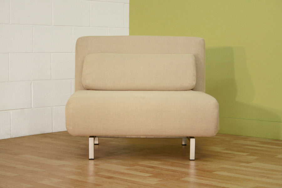 Baxton Studio Fabric Convertible Chair