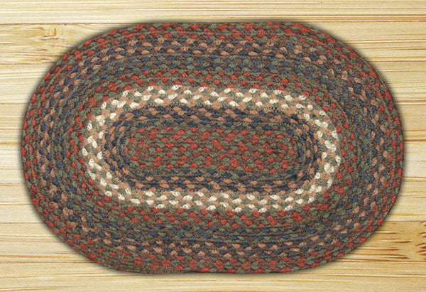 Burgundy/Gray Miniature Swatch In Different Sizes And Shapes