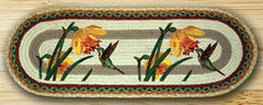 Hummingbird Oval Patch Runner In Different Sizes