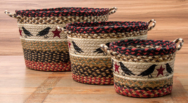 Crow & Star Utility Baskets In Different Sizes