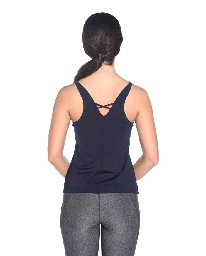 The Passion Tank - Deep Navy