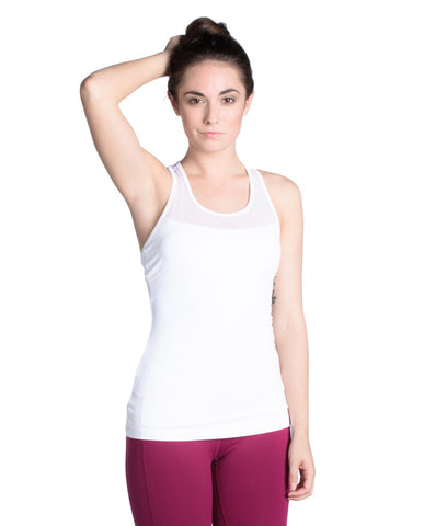 Awaken 2-in-1 Tank - White