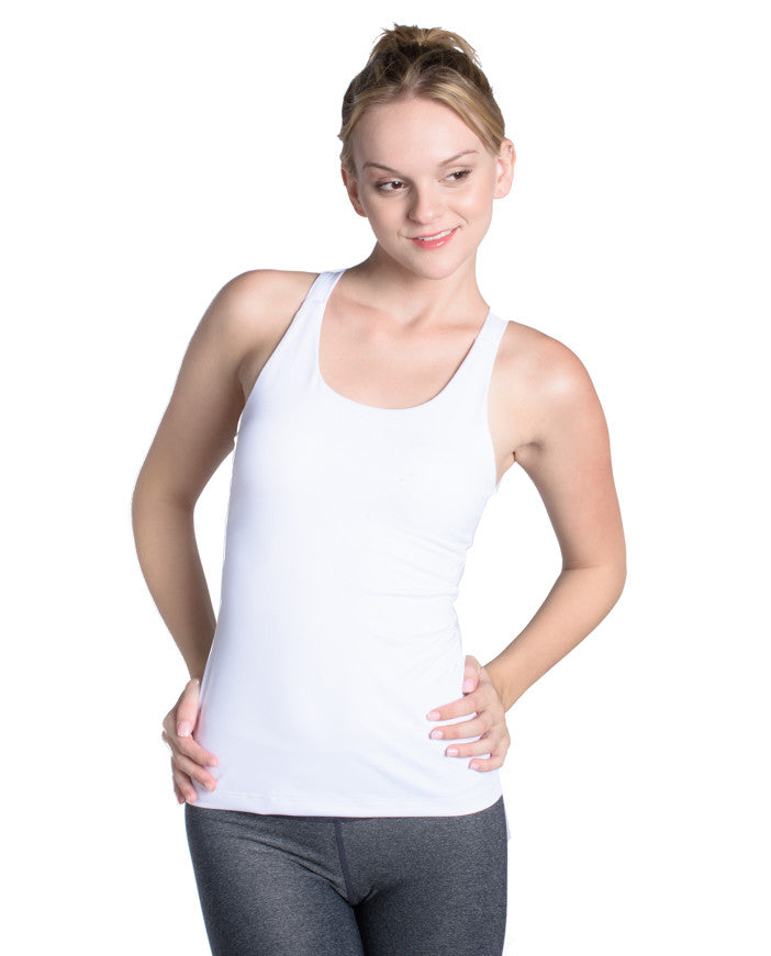Rise Above Tank - White