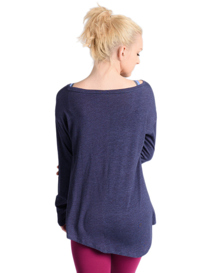 Uptown Long Sleeve - Navy