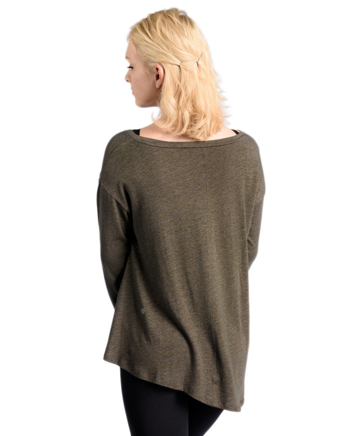 Uptown Long Sleeve - Army Green