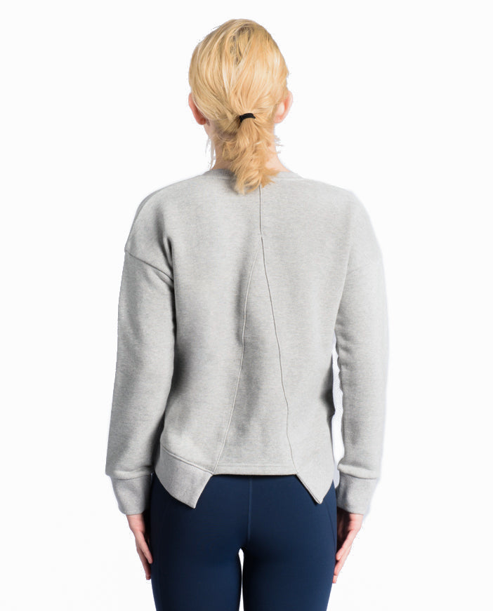 LadyBug Sweatshirt - Light Gray