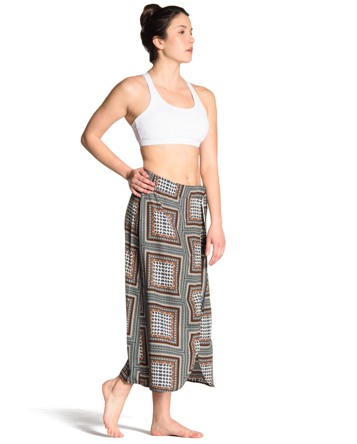 Kiara Wrap Skirt - Imperial