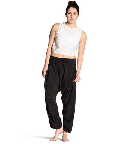 Eastside Harem Pants - Black