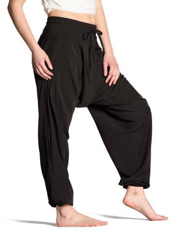 Flowy Wide Pants - Black