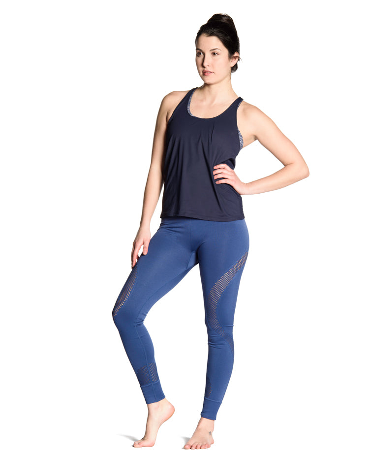 Mantra 2-in-1 Tank - Navy