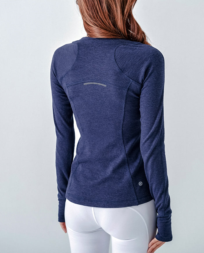 Sunnyside Long Sleeve - Navy