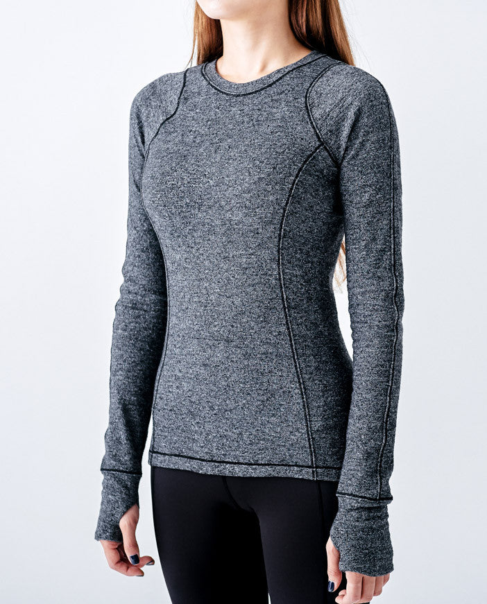 Sunnyside Long Sleeve - Charcoal