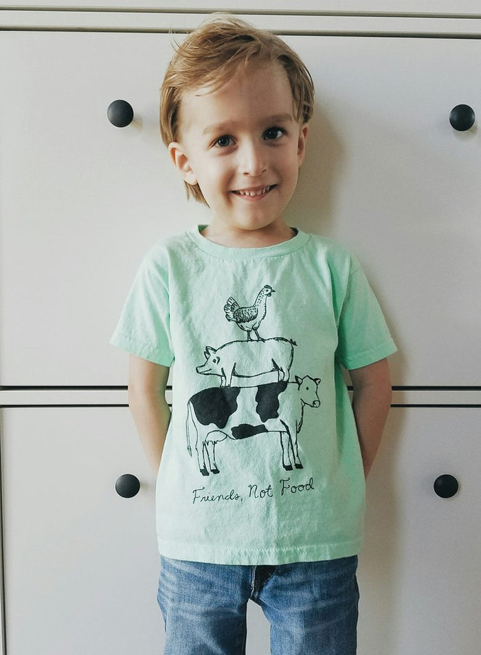 Friends Not Food Tee (Toddler)