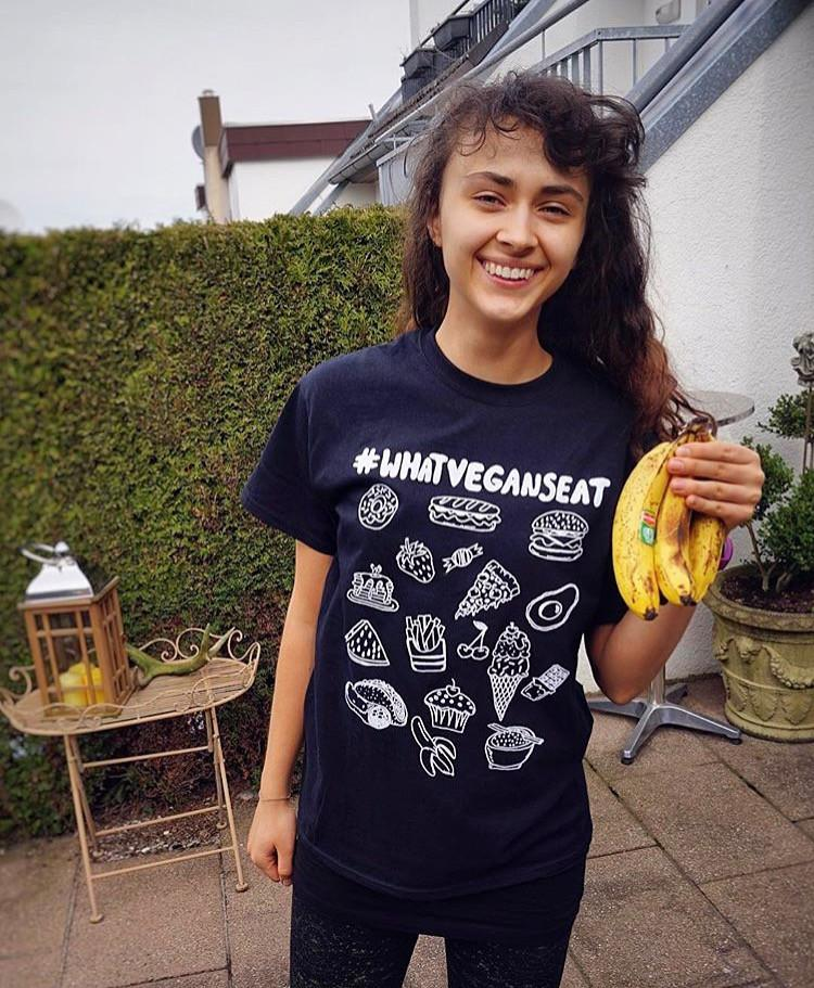 What Vegans Eat Tee (Women's)