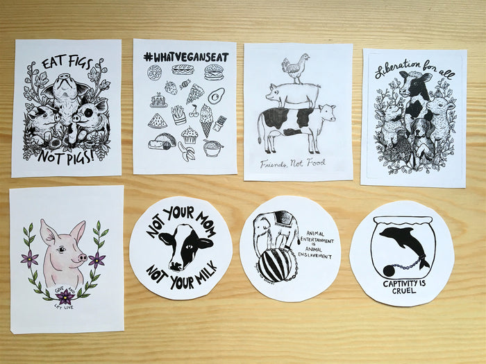 Bundle Pack All 8 Stickers