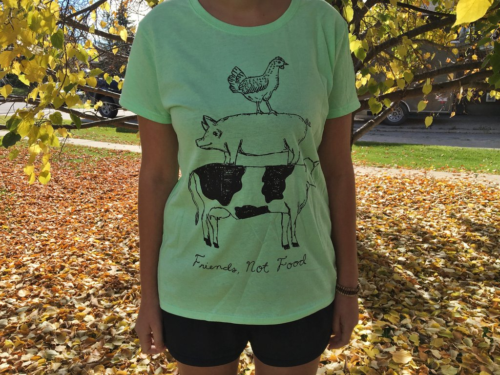 Friends Not Food Tee (Women's)