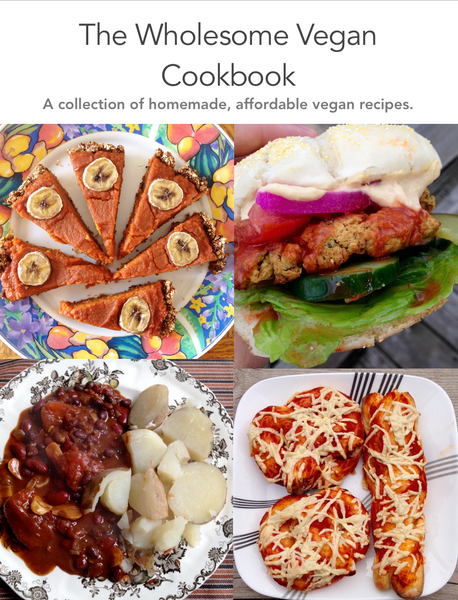The Wholesome Vegan Cookbook