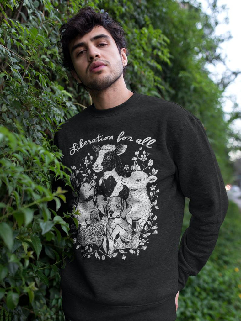 Liberation For All Crewneck
