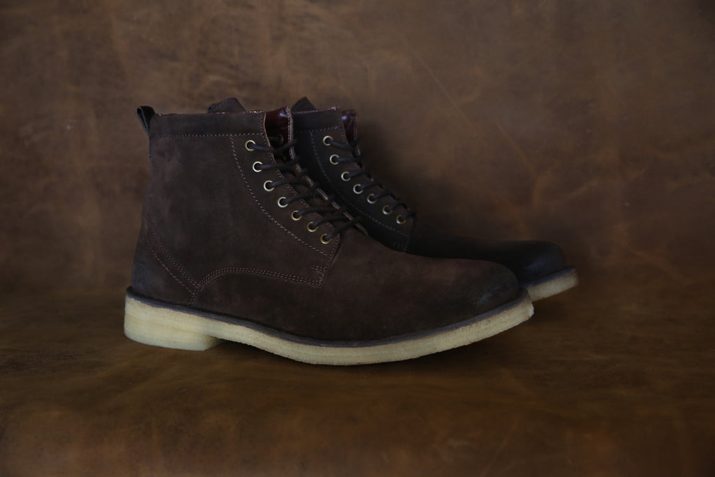 The Hunter | Chocolate, Shop Hound & Hammer Men's Handcrafted Boots