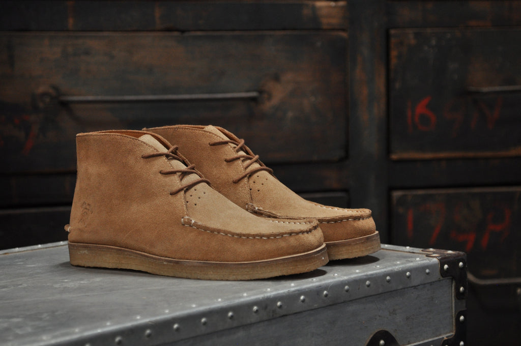 The Wallace | Sand, Shop Hound & Hammer Men's Handcrafted Boots