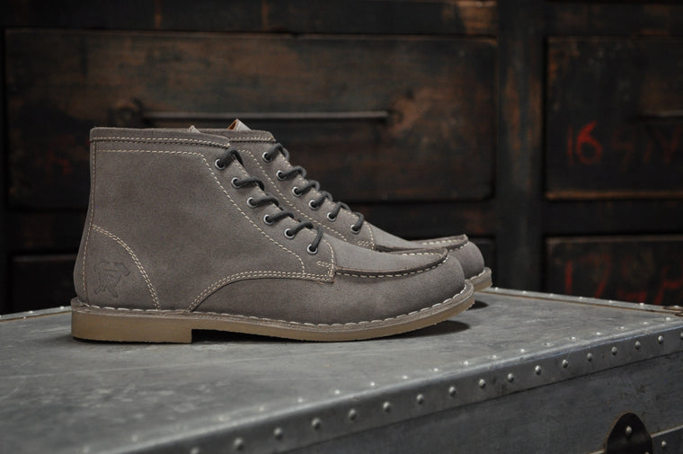 The Cooper | Burnished Grey Suede