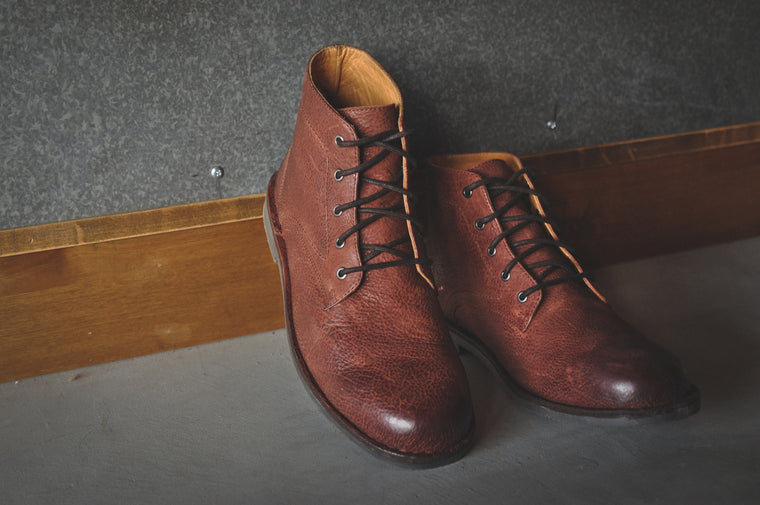 The Grover | Oxblood Leather