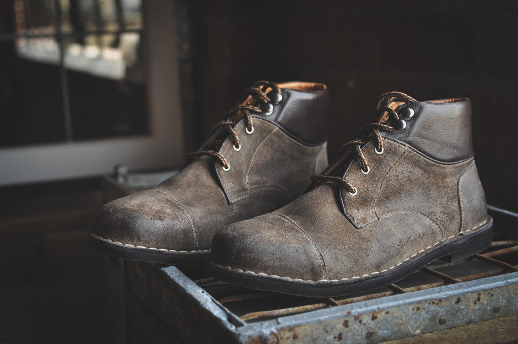 The Ferris | Burnished Taupe, Shop Hound & Hammer Men's Handcrafted Boots