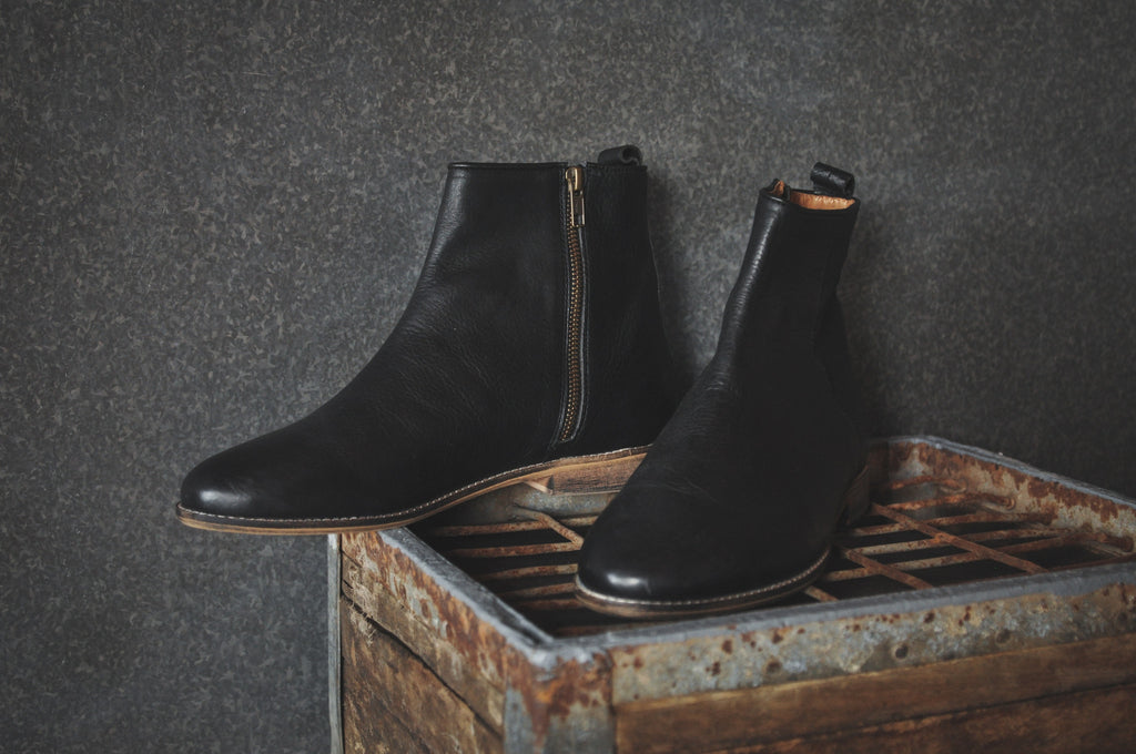 The Gunnar | Black, Shop Hound & Hammer Men's Handcrafted Boots
