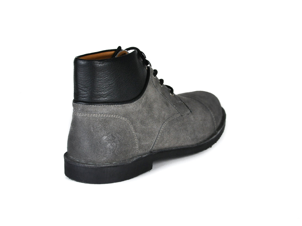 The Ferris | Burnished Grey, Shop Hound & Hammer Men's Handcrafted Boots