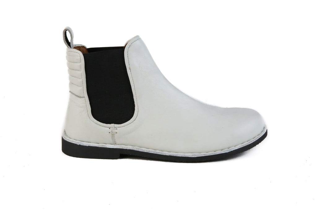 The Gamble | White, Shop Hound & Hammer Men's Handcrafted Boots