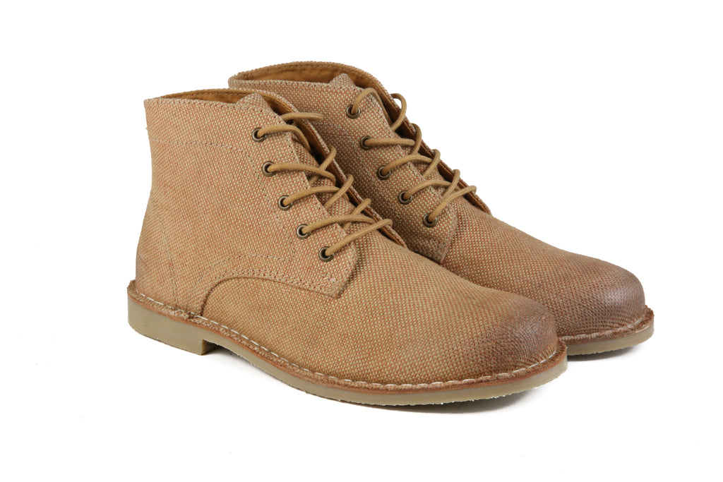 The Grover-Vegan | SandStone, Shop Hound & Hammer Men's Handcrafted Boots