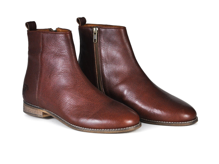 The Gunnar | Cognac, Shop Hound & Hammer Men's Handcrafted Boots