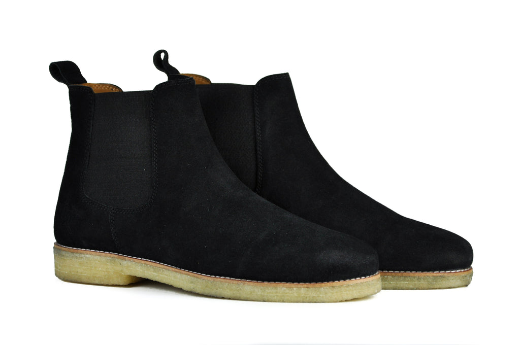 The Maddox 2 | Black Suede, Shop Hound & Hammer Men's Handcrafted Boots