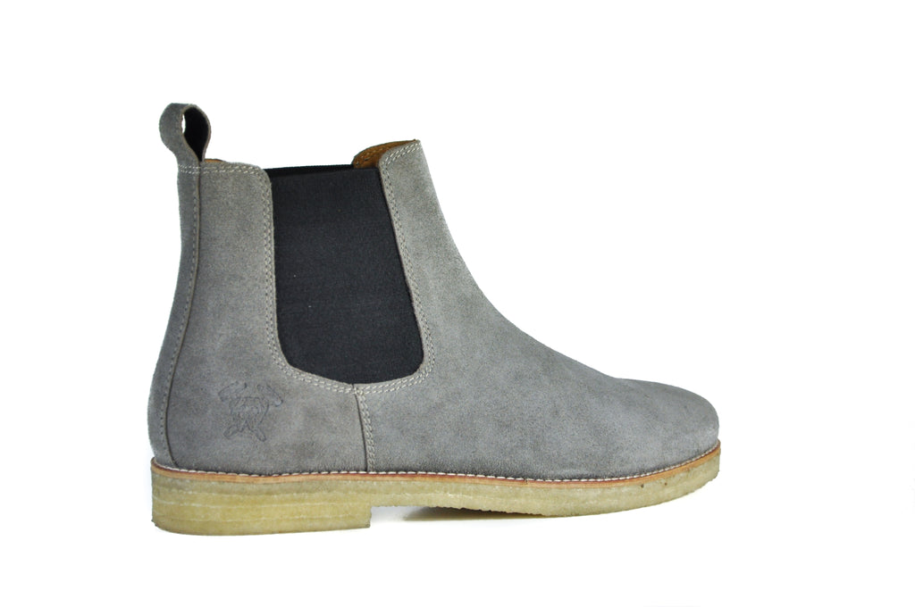 The Maddox 2 | Grey Suede, Shop Hound & Hammer Men's Handcrafted Boots