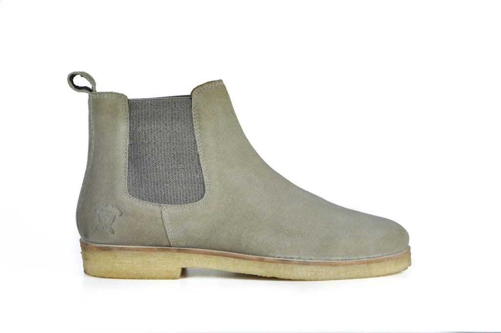 The Maddox 2 | Khaki Brown Suede, Shop Hound & Hammer Men's Handcrafted Boots
