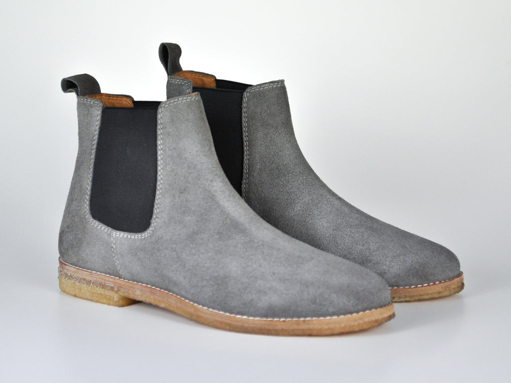 The Maddox | Grey Suede