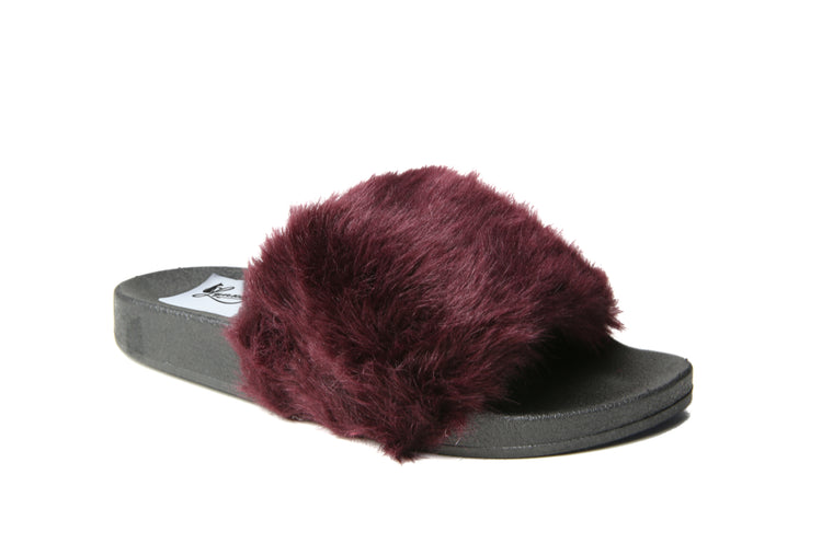 Glide Furry Slides | Wine