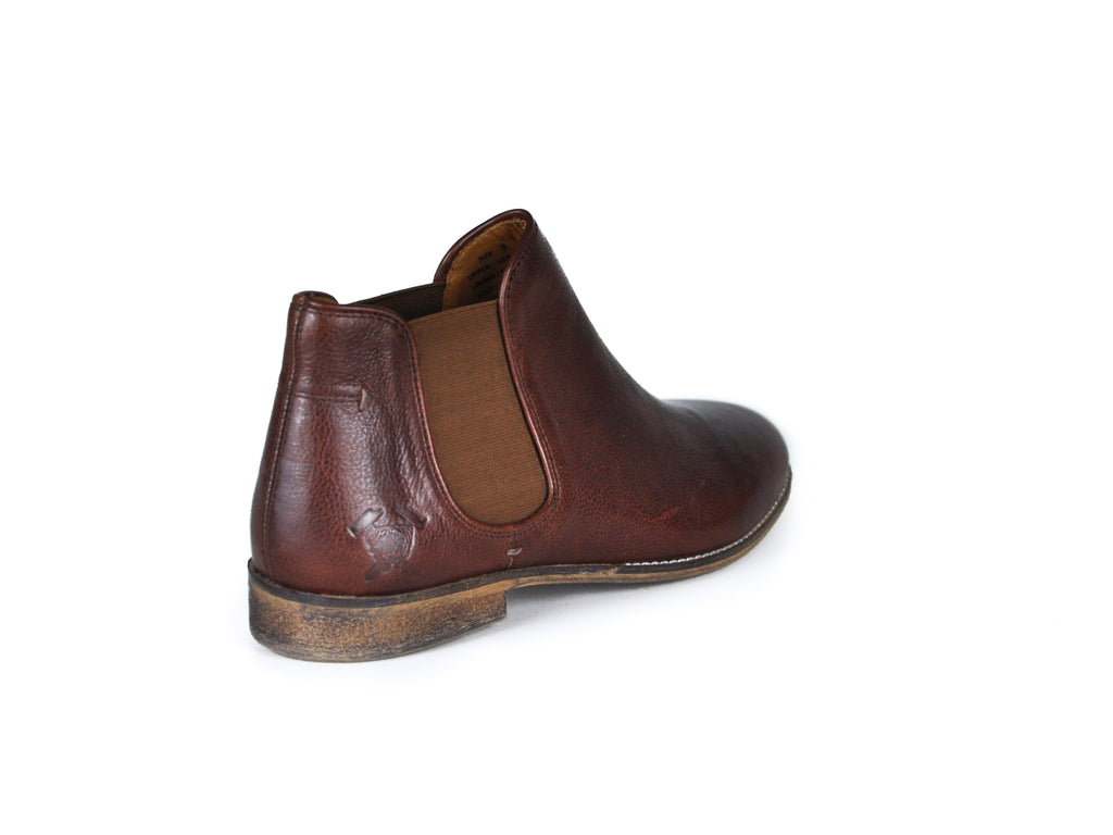 The Ronan | Cognac, Shop Hound & Hammer Men's Handcrafted Boots
